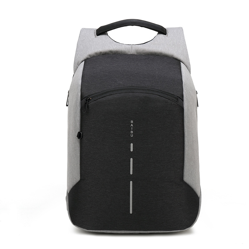 Baibu Men Multifunction Backpack Anti-theft Waterproof Design Laptop Backpack Student Boy School Bags For Teenagers Travel Bag #3