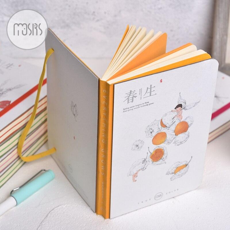 Cadernos desenho bonito straps escola notebook Tipo : Sketchbook