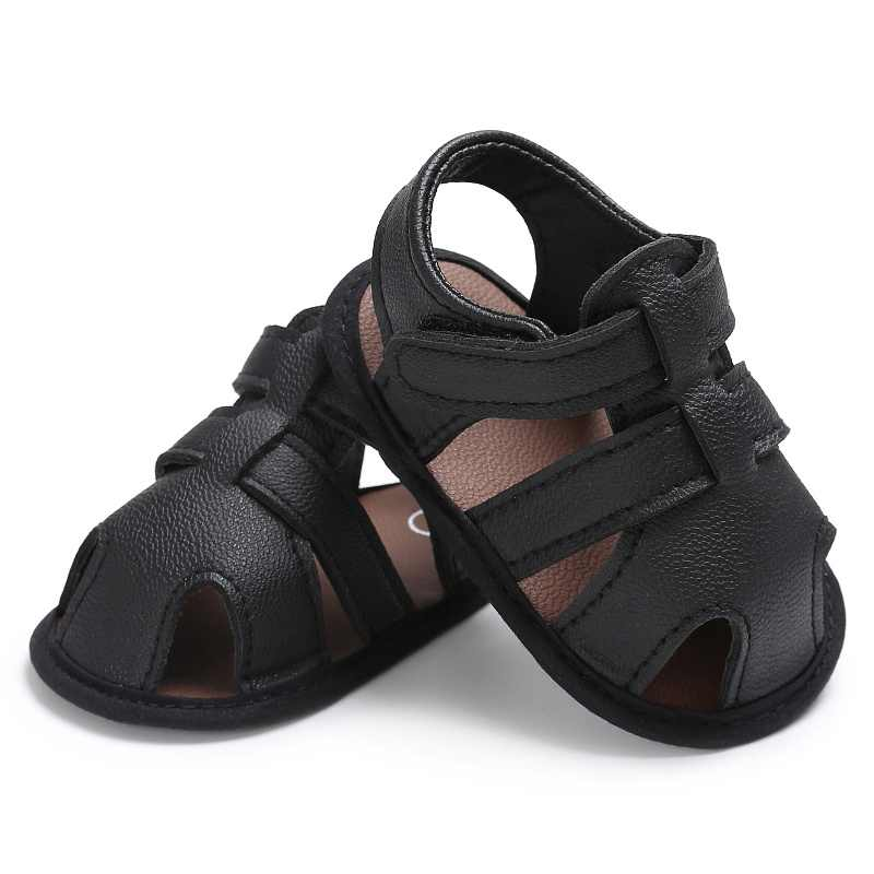 2017  New Arrival Fashion Leisure casual comfortable high quality summer newborn baby boy girl hollow baby PU leather non-slip s