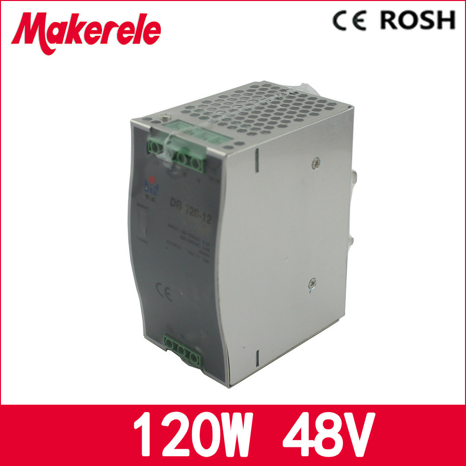 manucturer direct sale 120w 48v 2.5a DR-120-48 LED CE ROHS Approval Constant Voltage AC/DC Switching Power Supply from China минипечь gefest пгэ 120 пгэ 120