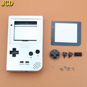 Image 3 - JCD Cho GBP Tay Cầm Nhựa Toàn Vỏ Vỏ Bao Da Thay Thế Cho Gameboy Bỏ Túi Game Vỏ Ốp Lưng Có Nút Bấm Bộ