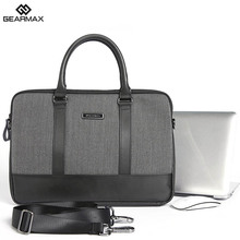2017 Original Gearmax Laptop Bag Tablet Notebook Case Light Messenger Mochila 13.3″14″15.6″ Funda Unisex Solid Fashion Handbag