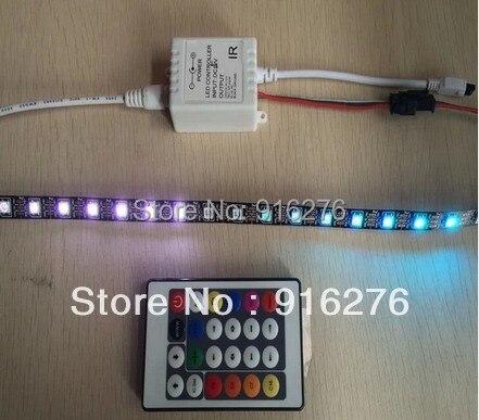 Նոր 24key IR RGB LED պիքսելային կարգավորիչ - Լուսավորության պարագաներ - Լուսանկար 3