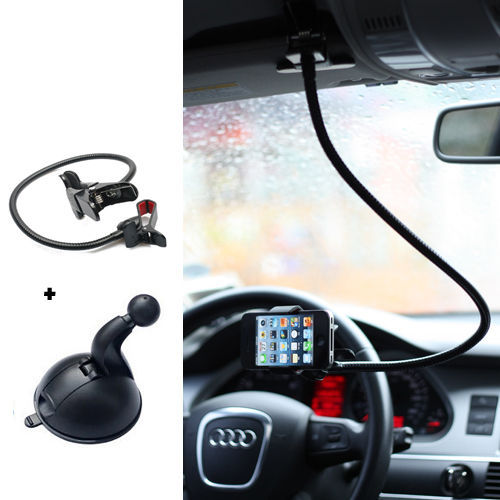 ORBMART 2 in 1 Universal Car Holder Berdiri + Malas Bed Telepon - Aksesori dan suku cadang ponsel - Foto 5