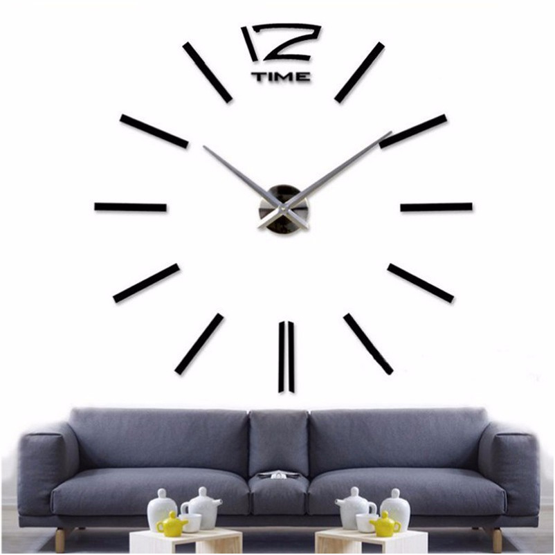 Wall Decor Clocks Modern : Aliexpress buy new home decor big wall clock