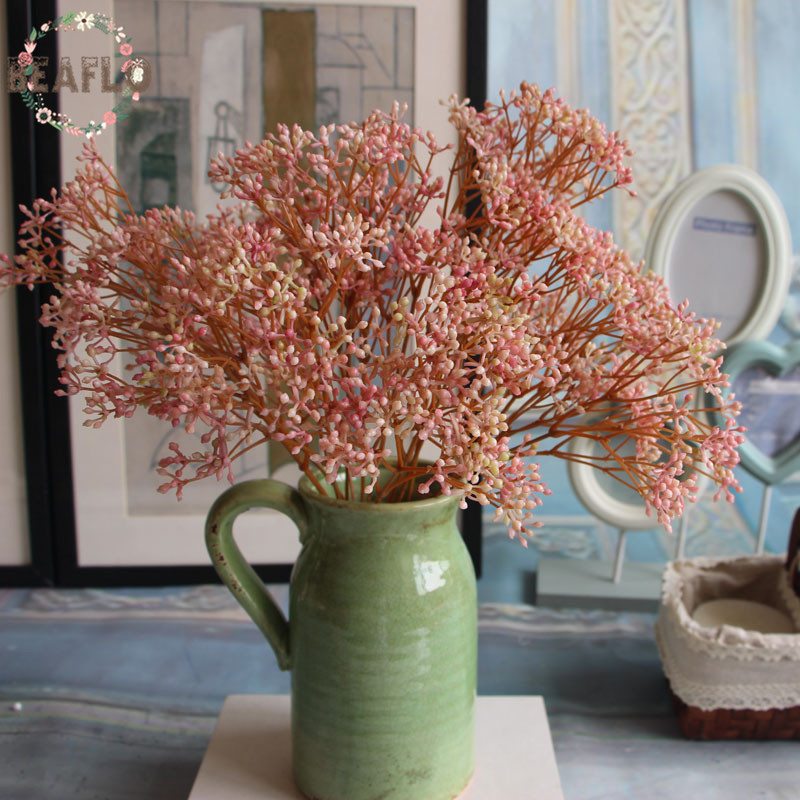 Букет Гипсофилы из искусственных цветов, 7 цветов, 1 шт.