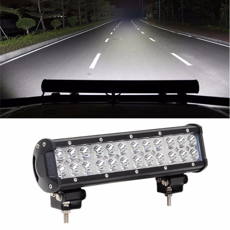Newest! 12inch 72W LED Work Drive Light Lamp Bar Offroad Light 12V For ATV SUV 4WD 4X4 Boating Truck Tractor light sourcing the newest type 6 3 inch 60w cree tuning light black red for offroad atv suv wrangler truck 12v 24v