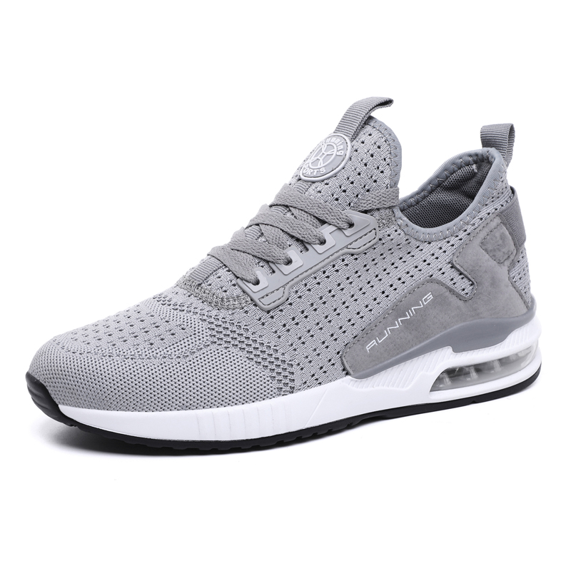 Hemmyi Couple Sneakers Shoes Mesh Breathable Chaussure Homme Spring/Autumn Men Shoes Air Cushion Size 36-45 Support Dropshipping 3