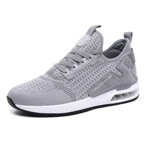 Image 4 - Hemmyi çift Sneakers ayakkabı örgü nefes Chaussure Homme İlkbahar/sonbahar erkek ayakkabısı hava yastığı boyutu 36 45 destek Dropshipping