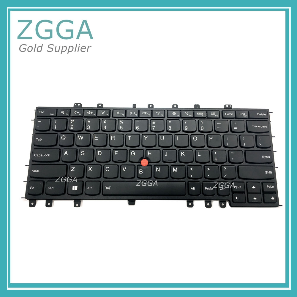 New Internal Keyset for Lenovo ThinkPad S1 Yoga 12 S240 Laptop US English Layout Backlit Keyboard 04Y2620 04Y2916 SN20A45458 цена
