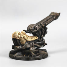 [Grappige] Collectie H. r. giger AVP Alien vs Predator Prometheus Ruimte Jockey Alien Artillerie Model Standbeeld Resin Action Figure Speelgoed(China)