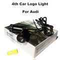 4-й 12 В 10 Вт Автомобиль логотип Свет Эмблема Лазерная Дверь Лампы Авто Призрак Тень Лампы A1/A2/A3/A4/A5/A6/A7/A8/Q1/Q3/Q5/Q7/TT/R8/S/RS