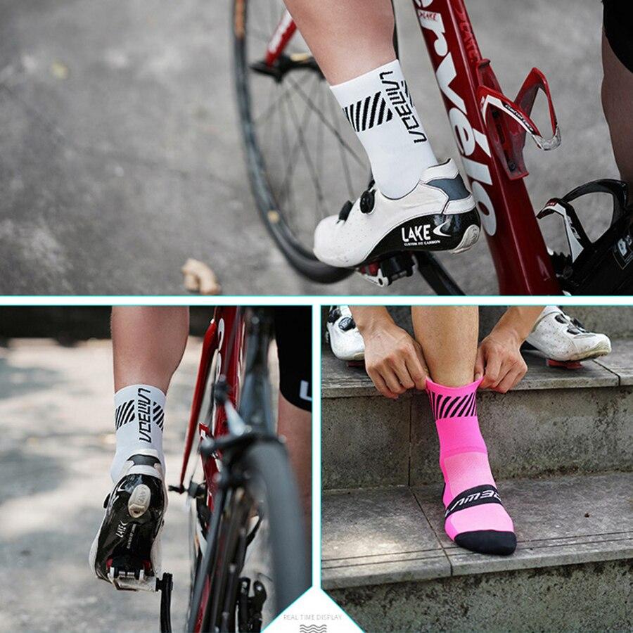 ba65cc43b767e LAMBDA professional cycling socks men women camping yoga basketball  football soccer running bike bicycle sports socks
