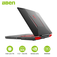 Bben Notebook Windows 10 Intel Core I7 7700HQ Quad Core 17 3 Inch IPS Screen 32GB