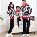 Family Clothing Set Active Hoodies Sailor Pattern Family Matching Outfits Matching Mother Daughter Clothes Father And Son Suits
