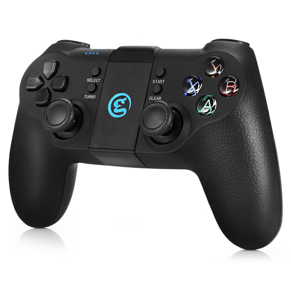 GameSir T1s 2.4GHz Wireless Bluetooth Gamepad Joystick Mobile Gaming Controller With Phone Holder For Android Windows PS3 System gamesir t1s 2 4ghz wireless bluetooth gamepad joystick for android windows ps3 game controller smartphone pk 8bitdo sf30 pro