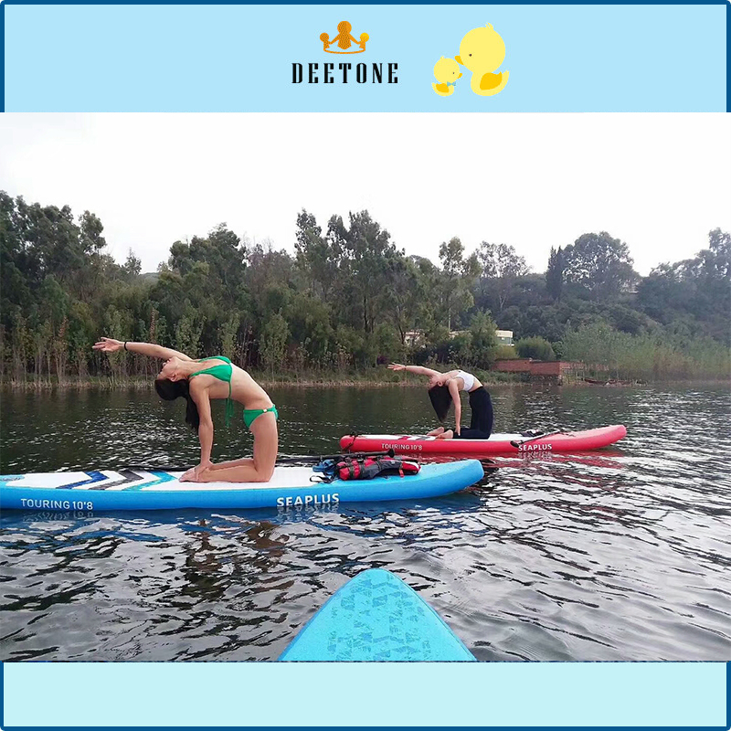 Inflatable Yoga Mats Gymnastic Mat On Water Fitness Floating INFLATABLE WATER MAT мойка кухонная harte h 5068 307 680х490 мм терракот