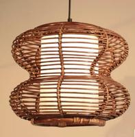 Mailing rattan lamp Pendant Lights Indonesian rattan lamp cane cane art lamp restaurant light table cane lamp cane art LU726264