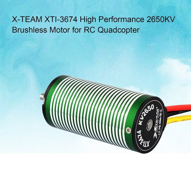 X-TEAM XTI-3674 High Performance 2650KV Brushless Motor for RC Drone FPV Racing Quadcopter Glider Plane Spare Parts