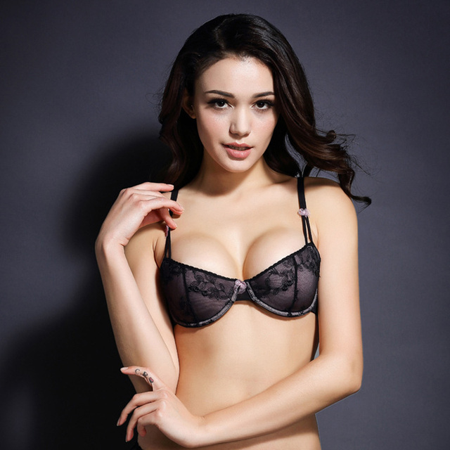 2016 New Hot Selling Cute Lace Bow Decorated Teen Girl Mold Cup Push Up Bra Womens Sexy Lingerie