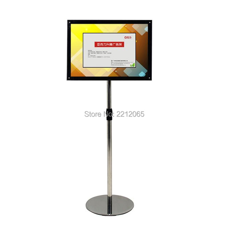 floor standing poster frames outdoor indoor