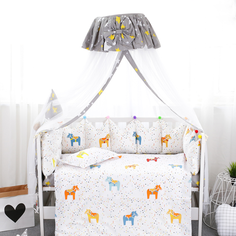 Palace Style Baby Bed Mosquito Net Round Top Newborns Crib Mosquito Nets Bowknot Decor Baby Bed Canopy 2 Types tenda infantil