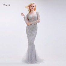 Finove Beading Evening Dresses Classic Mermaid Floor-Length