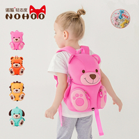NOHOO 3D kids Bag for girls boys Children school bags cute waterproof Backpacks school backpack mochila escolar juventus roblox