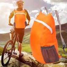 Foldable Zipper Travel Sport Backpack Storage Shoulder Bags Nylon Camping Hiking