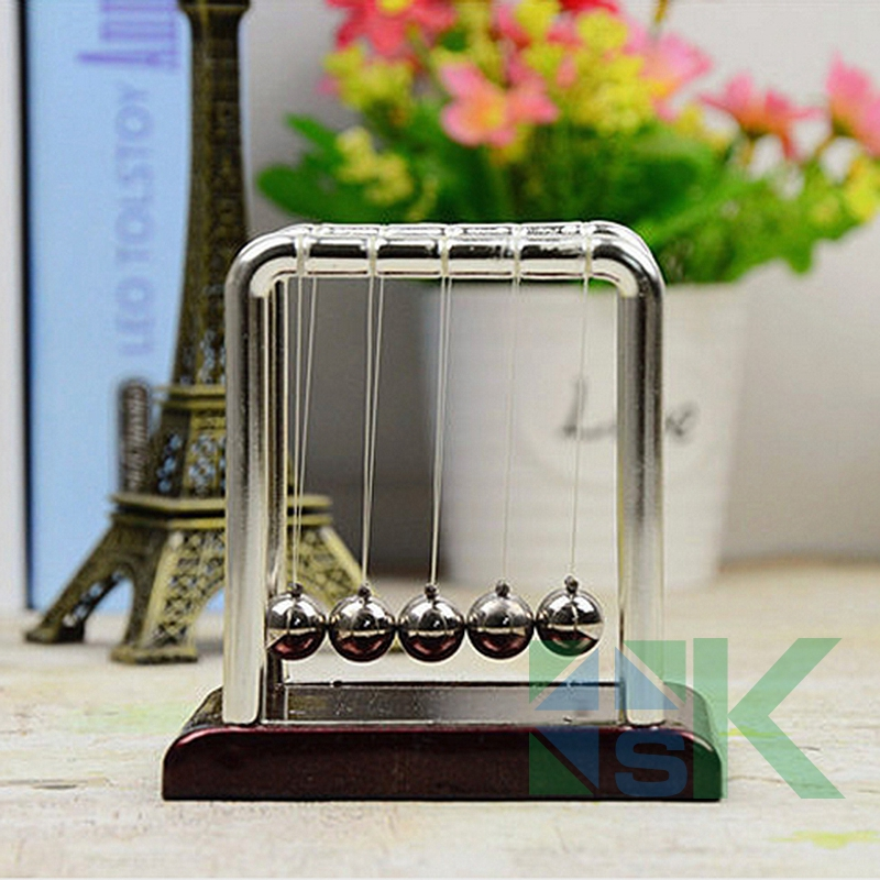 2016 New Arrival Balance Pendulum Ball Physics Science Fun Desk Toy Educational Teaching Aids Gift Home Decor
