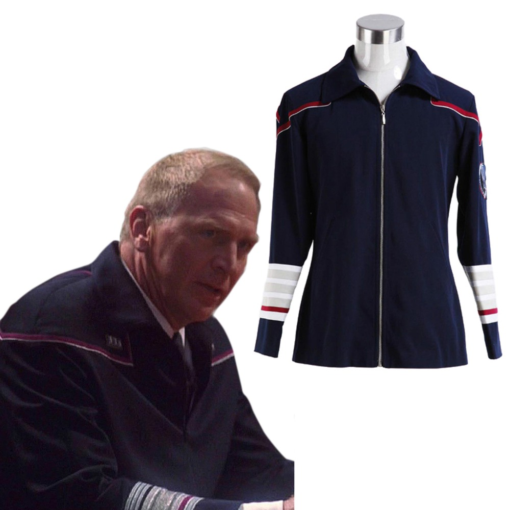 Star Trek Enterprise Admiral Cosplay Costume Navy Blue Uniform jacket cosplay costume custom made