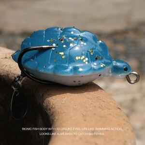 Image 5 - Trehook 12グラム5.5センチメートル人工餌カメソフトルアーシリコーン魚トラウトスプーンパイクwobblersルアー