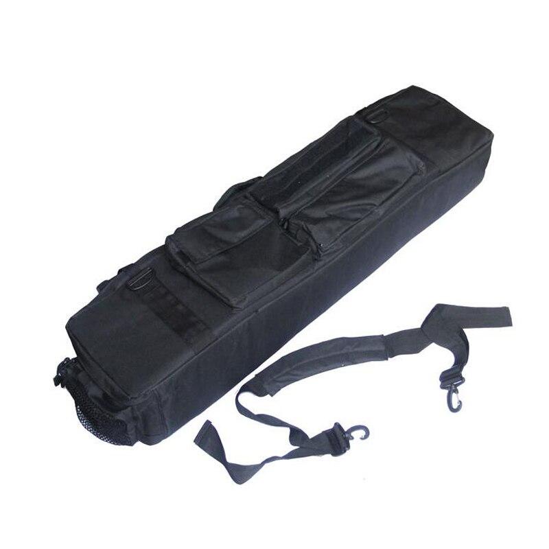 une bo/îte de pistolet multifonctions une chasse au pistolet /à air comprim/é une bo/îte de pistolet de chasse au poisson souple un sac de p/êch Sac tactique de pistolet M249 sac de transport en plein air avec une balle molle