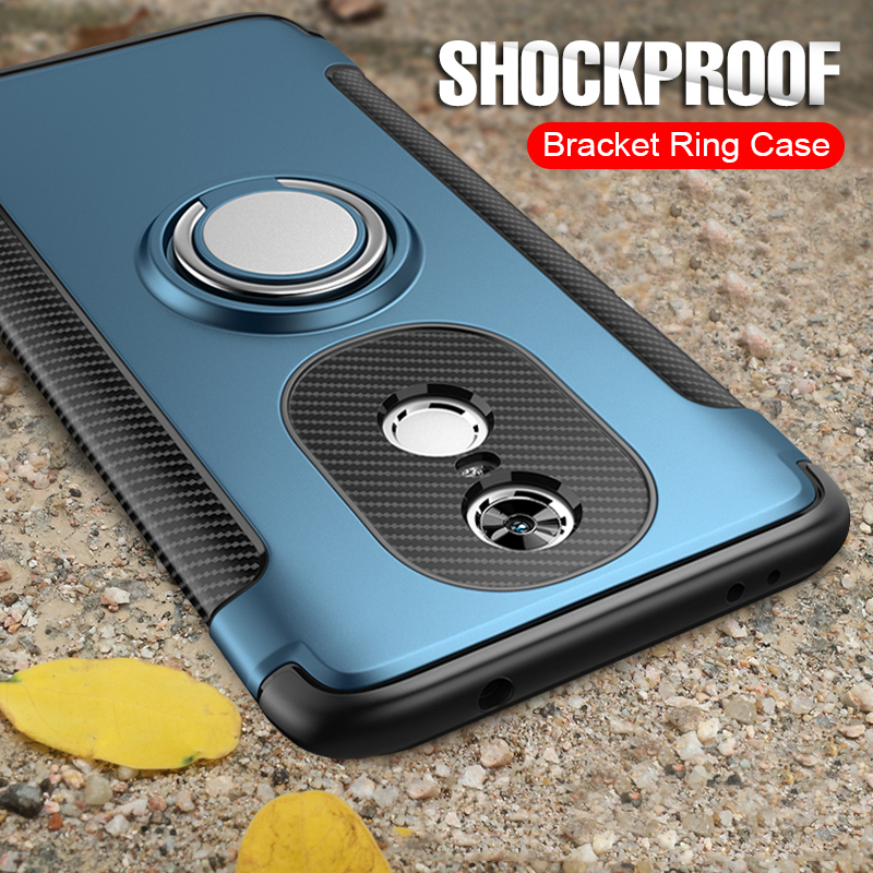 Luxury Soft Shockproof Case For Xiaomi Redmi 4X Note 4 4X Full Cover For Redmi 5 Luxury Soft Shockproof Case For Xiaomi Redmi 4X Note 4 4X Full Cover For Redmi 5 PLus Note 7 Pro 6 6A Hard PC Bracket Ring Cases