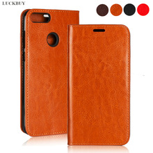 Retro Ultra Thin Genuine Leather Case for Huawei Enjoy 6s 7 7S 8 8E 9 Plus holder Cover Max Phone case