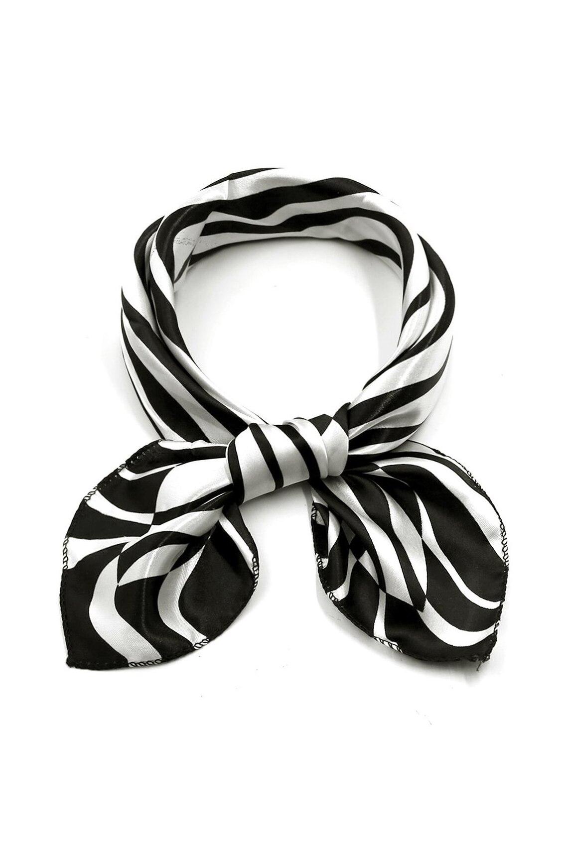 ᗔSAF-impresión poliéster 20 pañuelo Masajeadores de cuello bufanda ...