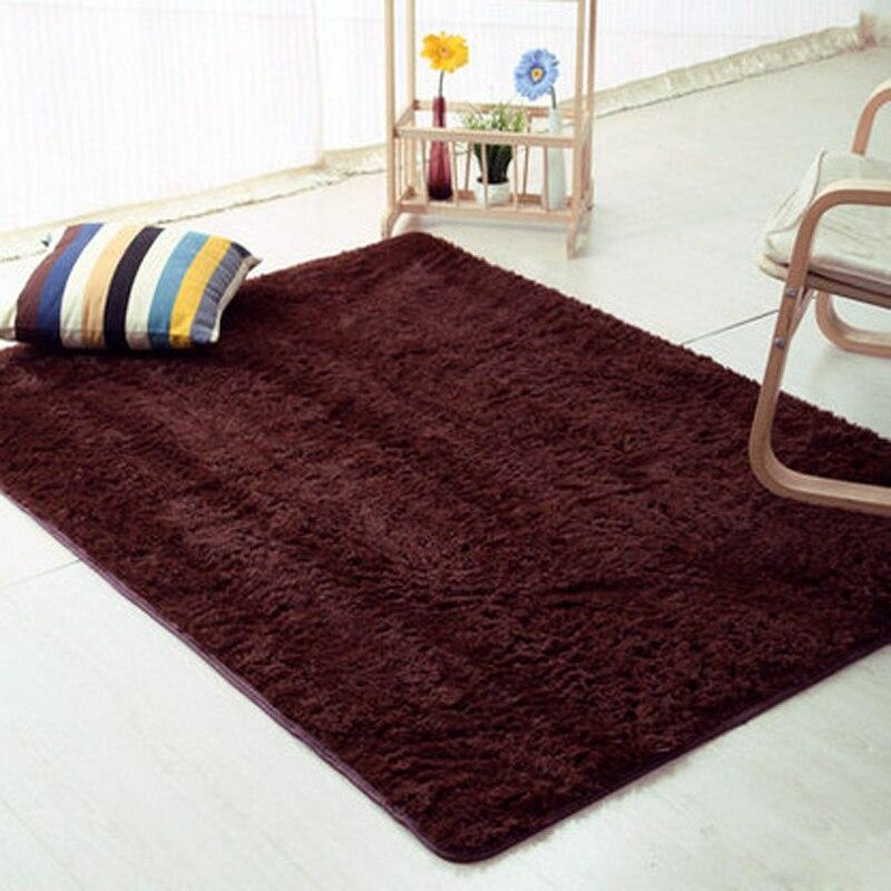 120*160 tapis de sol anti-dérapant chambre tapis doux modèles soyeux tapis tapis canapé Faux peau artificielle chambre salon tapis