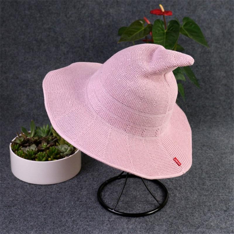 Nya Sommar Kvinnor Sol Kepsar Mode Kepsar Häxa Hatt Kepsar Hinkar - Kläder tillbehör - Foto 2