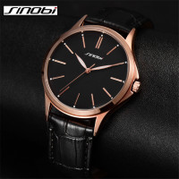 SINOBI Brand Men Causal Quartz Watch Male Fashion Style High Quality Sport Wristwatches Luxury Waterproof Clock