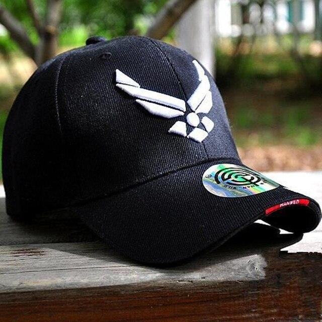 fb5ff768493d7 New Design US Air Force Baseball Cap Mens Brand Tactical Cap Bone Masculino  Snapbacks USA Army Hats Adjustable
