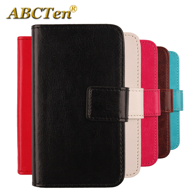 info for 4eb10 55d92 US $3.99 |ABCTen High Quality Mobile Phone Cover Flip PU Leather Wallet  Bags Case For Argos Bush 5 Inch Android Smartphone-in Flip Cases from ...