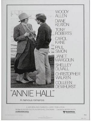 Annie Hall Woody Allen Vintage Movie Art Wall Decor Silk Print Poster image