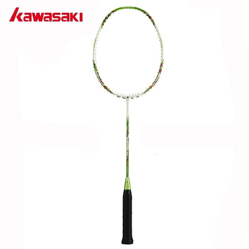 Nouvelle marque Kawasaki raquettes de Badminton pour enfants 5U Junior raquette de Badminton pour 8 ~ 13 ans enfant heureux enfants 650