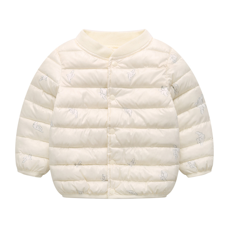 Girls Jackets 2021 Children Outerwear Coat Winter Baby Boys Girls Cardigan Jacket Toddler Warm Coat Kids Clothes For 3-7 Years 6
