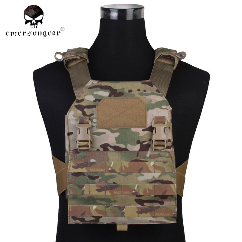Emersongear APC MultiCam Tactical Vest Molle Load Bearing Vest Back Panel Airsoft Paintball Military Army Hunting Vest EM7328