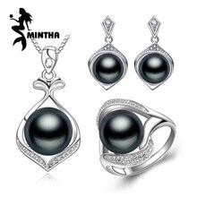MINTHA pearl jewelry, gėlavandenių perlų pakabukų karoliai, etniniai auskarai, antikvariniai žiedai, vestuvių papuošalų rinkiniai, auskarai moterims