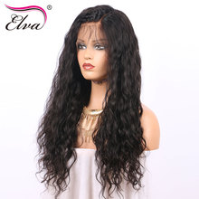 Elva Hair Lace Front Human Hair Wigs For Black Women Pre Plucked Hairline Brazilian Remy Hair Wigs With Baby Hair Bleached Knots