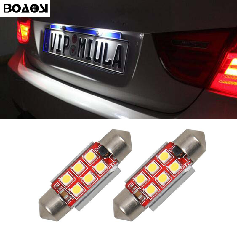 2x Fits BMW 3 Series E90 Bright Xenon White LED Number Plate Upgrade Light Bulbs
