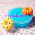 TYL014 Miniature Sweets Mold Spiral Donut Mold Doughnut Kitsch Jewelry Charms Kawaii Cabochon Resin Polymer Clay Fimo Mold