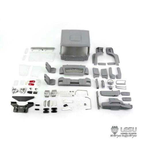 LESU 1 14 RC MAN Plastic ABS Cabin Set for 6 6 Dumper Truck DIY Tmy